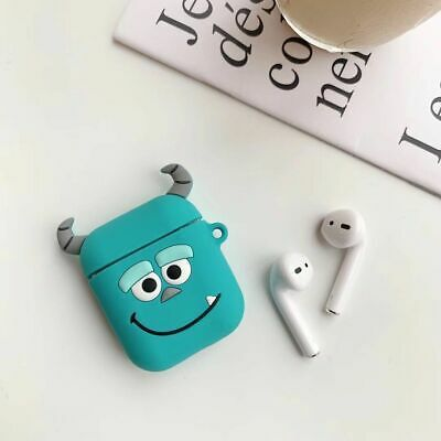 Disney 3d Cartoon For Apple Airpods 1 2 Earphone Protector Charging Case Cover Ebay In 2020 Earphone Case Airpod Case Apple Phone Case