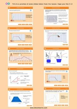 Distance Time Graphs 7th 8th Grades Uk Year 8 9 Distance Time Graphs Graphing Kindergarten Math Worksheets