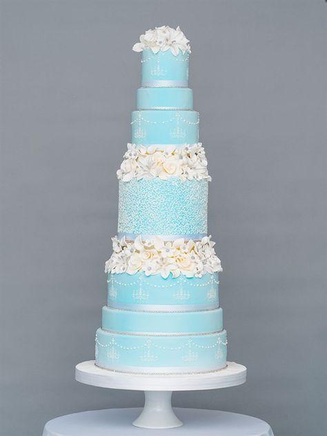 Oscar De La Renta Luxury Wedding Cake by GC Couture | GC