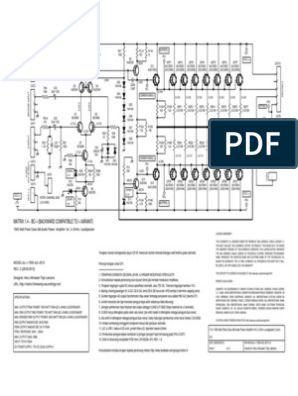 1500w 2 Ohms 75v Supply Audio Power Amp Bc i 1500 Ls2 2013
