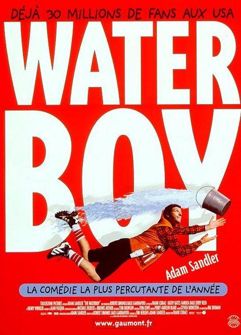 The Waterboy Cool années 90 Comédie Vintage Classic Movie Poster Fan T Shirt Noir