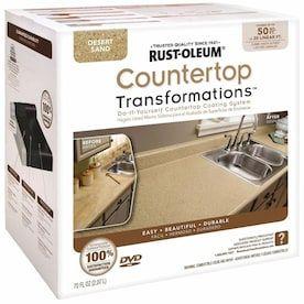 Rust Oleum Countertop Transformations Desert Sand Semi Gloss