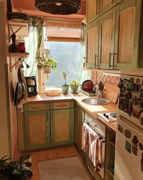 Deco Design, Küchen Design, Design Case, Interior Design, Interior Sketch, Nordic Interior, Coastal Interior, Studio Interior, Bohemian Interior