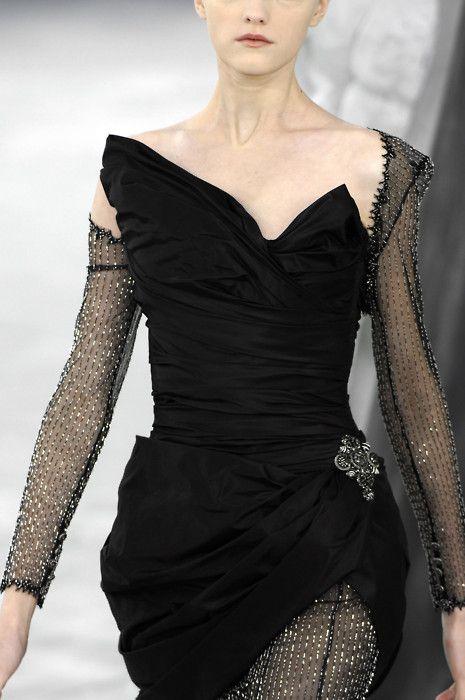 noir couture.