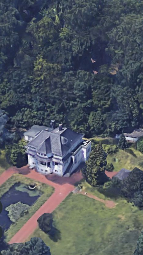 Aussergewohnliche Villa In Essens Top Lage Mit Riesigem Grundstuck Pool Teich Und Tennisplatz Villa Pool Teich