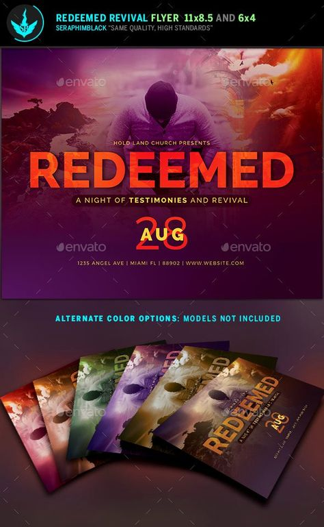 Free Church Revival Flyer Template Best Of Redeemed Revival Church Flyer Template By Seraphimblack Flyer Template Flyer Event Flyer Templates