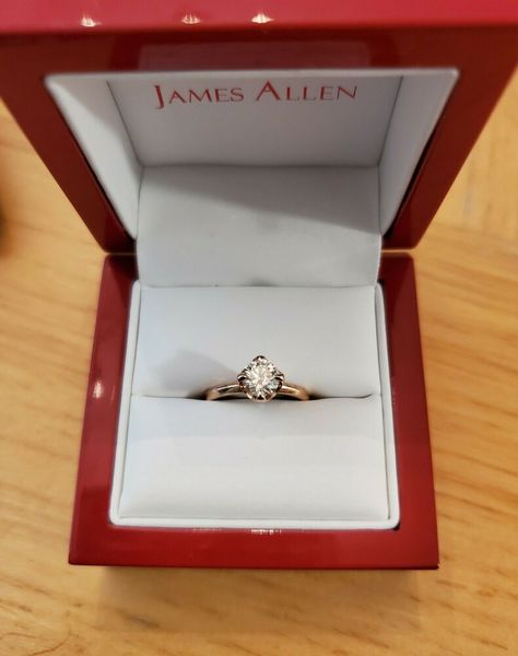 Solid 10k White Gold 12x10m Oval Diamond Engagement Semi Mount Fine Ring Setting