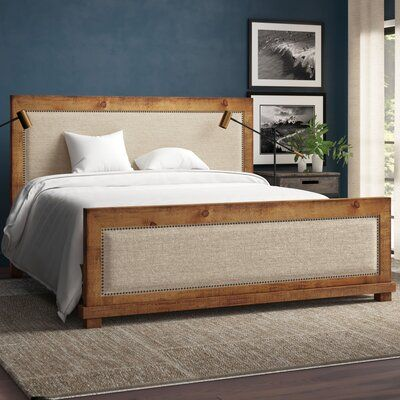 Upholstered Headboard With A Wood Frame Specifics On Button Stuffing Thru Backside To S Bed Frame And Headboard Upholstered Headboard Diy Headboard Upholstered