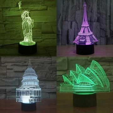 Lampeez Is The Pioneer Of 3d Led Lamp With The Best Quality And Largest Collection Of Optical Illusion Lamps Use It As A Night L Com Imagens Acessorios Kawaii Ideias Leds