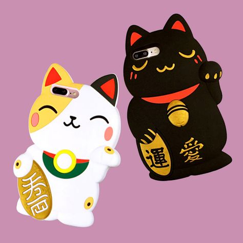 f07a34beb Lucky Cat Phone Case - Dylan Jones - A online shop based in Melbourne,  Australia. Run by a boy and his dog in 2019 | things I want just because |  Maneki ...