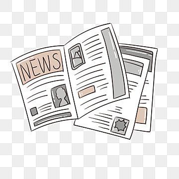 Gambar Ilustrasi Koran Kartun Terbuka Clipart Koran Koran Terbuka Tiga Surat Kabar Png Dan Vektor Dengan Latar Belakang Transparan Untuk Unduh Gratis Kartun Ilustrasi Alfabet