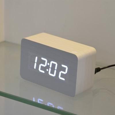 Clock Wooden Alarm Clocks Led Digital Desk Alarm Clock Digital Table Clock Clock