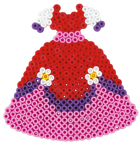 Princess Kleid Hama Beads Hama Fashion Design Kit 3019 Bugelperlen Geschenke Mode