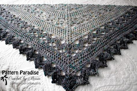 Join Me for the Spring Showers Shawl Crochet Along (CAL | Pinterest ...