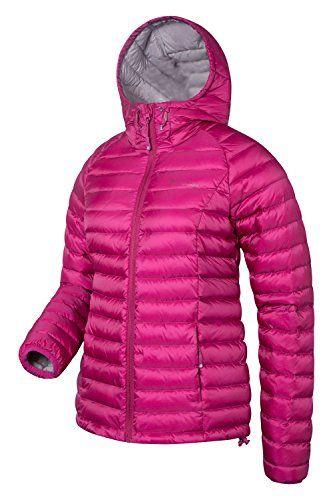 e77dd9f7e Mountain Warehouse Horizon Womens Hydrophobic Down Jacket With Hood ...