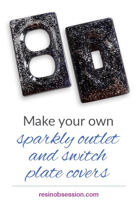 How To Make Your Own Galaxy Themed Switch Plate And Outlet Covers Great Idea For Decorating A Kids Room Outlet Covers Resin Tutorial Switch Plate Covers