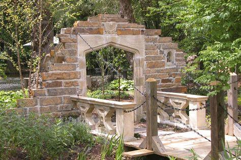 Gartenruine Mit Zugbrücke   Langford Bridge | Garten Ruine | Pinterest |  Langford F.C., Gardens And Garden Structures