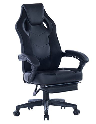 Swell Healgen Gaming Chair With Footrest Racing Computer Pc Chair Gmtry Best Dining Table And Chair Ideas Images Gmtryco