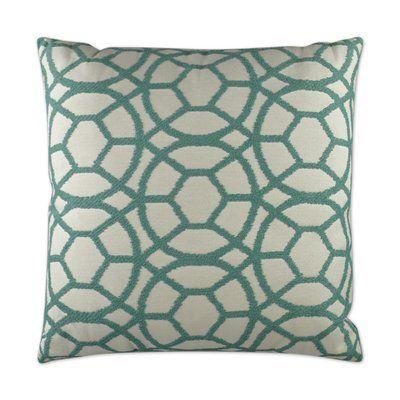 D V Kap Suave Throw Pillow Color Lagoon Throw Pillows Pillows