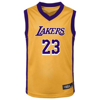 NBA Los Angeles Lakers Toddler Boys' LeBron James Jersey - 3T ...