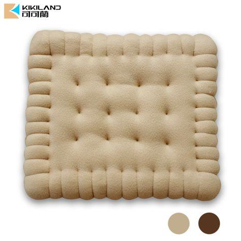 Pas cher Cartoon biscuits Biscuit oreiller coussin coussin de chaise cadeau de noël Home Decor canapé décorations créative cadeaux, Acheter  Coussin de qualité directement des fournisseurs de Chine: