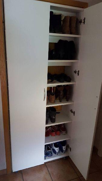 Schuhschrank In Turnische Turrahmen Stauraum Schuhschrank