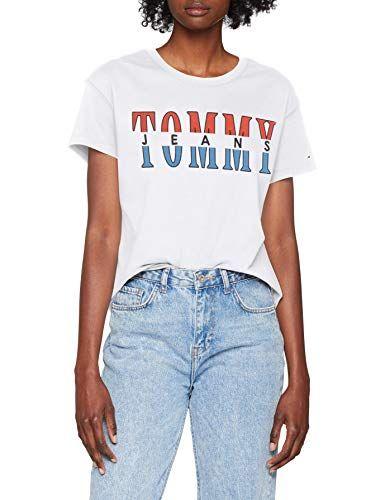 Tommy Hilfiger Damen Crew Neck Graphic Tee T-Shirt