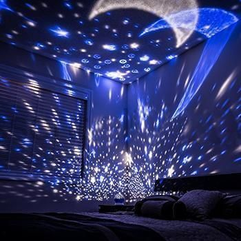 Self Rotating Constellation Night Projector Lamp Bring The Galaxy Home Night Light Projector Starry Night Light Star Night Light