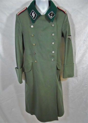 Lot # : 258 - WWII German Waffen SS Panzer Officer Great Coat www.jjamesauctions.com