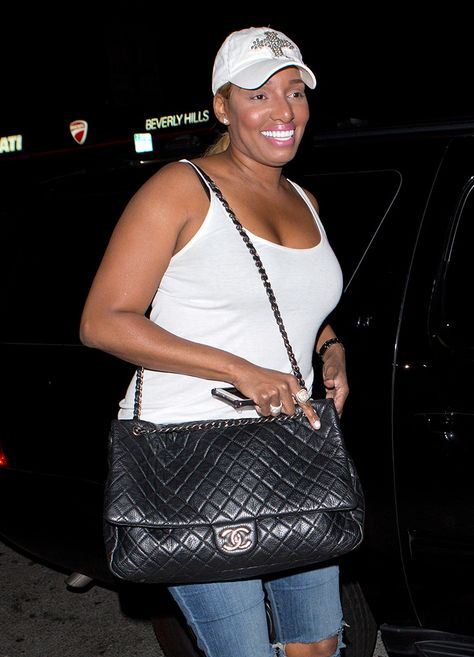 Nene Leakes, Chanel XXL Flap Bag From Spring/Summer 2016 Act 2 Collection $4,000 more info https://www.spottedfashion.com/2016/02/25/chanel-xxl-flap-bag-from-springsummer-2016-act-2-collection/