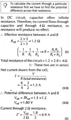 Important Questions For Class 12 Physics Resistance And Ohms Law Q 22jpg Page1 Ncert Ncertsolutions Cbse Cbseclass12 Cbseclas Ohms Law Physics Math Genius