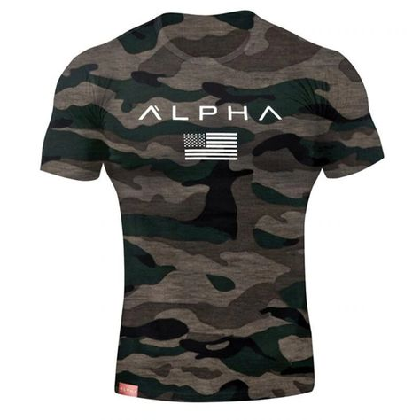 Men Military Army Star Loose Alpha America Short Sleeve T Shirt SF – loveitbabe