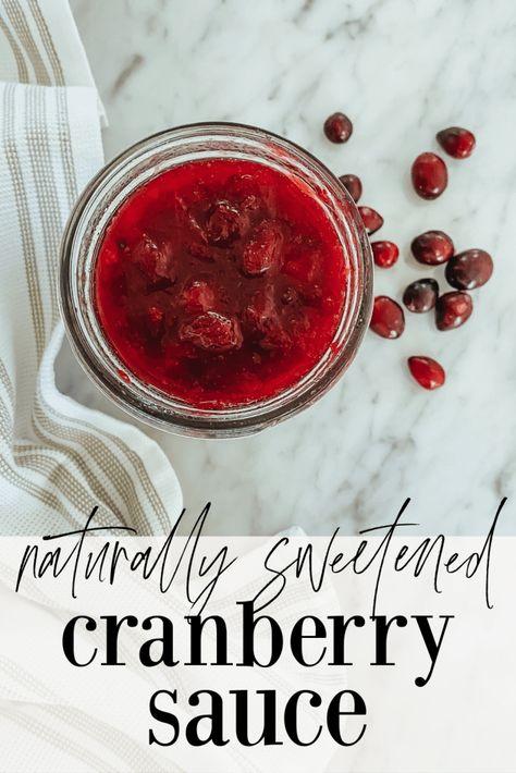 Crowd Pleaser Cranberry Sauce | Becca Bristow