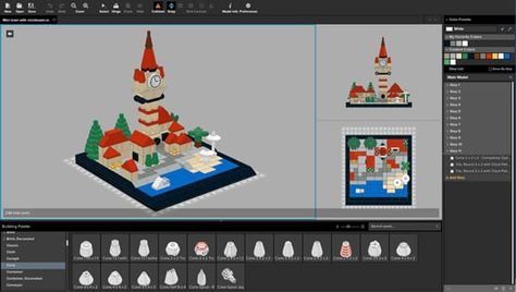 Stud Io Comme Lego Digital Designer Mais A La Sauce Bricklink Lego Design Logiciel