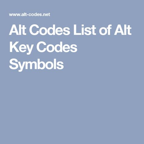 ms word codes for special characters