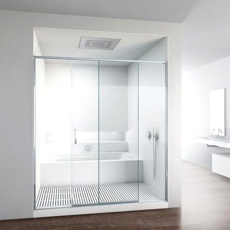 Bagno Vasca E Doccia.Vasca E Doccia Insieme Avec Vasche Combinate Affordable Per