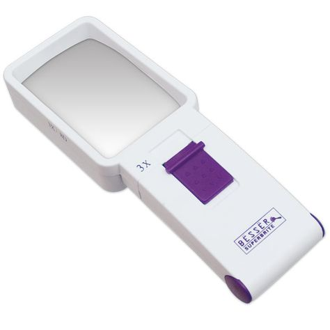Great Besser Superbrite X D LED Handheld Magnifier MaxiAids Products for Independent Living Blind Low Vision Deaf Lupas Pinterest