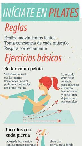 5 Ejercicios De Pilates Para Principiantes Y Sus Beneficios Pilatesparaprincipiantes Pilates Para Principiantes Pilates Ejercicios