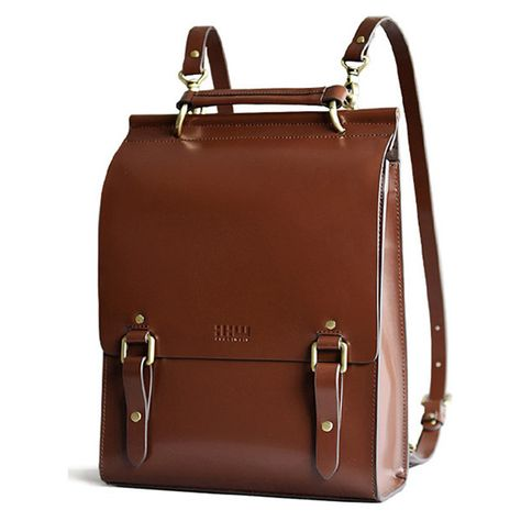 Shop viewinbox dark auburn solid color buckle design backpack here, find your backpacks at dezzal, huge selection and best quality. Vintage Leather Backpack, Leather Satchel, Sac Week End, Minimalist Bag, Leather Bags Handmade, Designer Backpacks, Branded Bags, Cute Bags, Luxury Bags