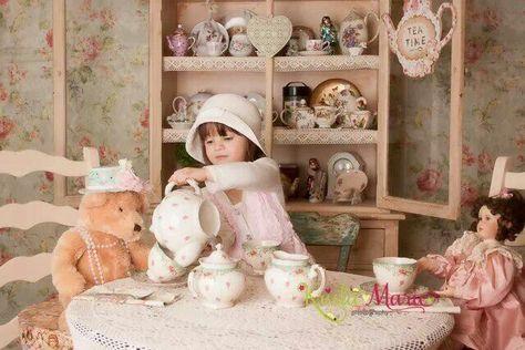Love the tea party theme