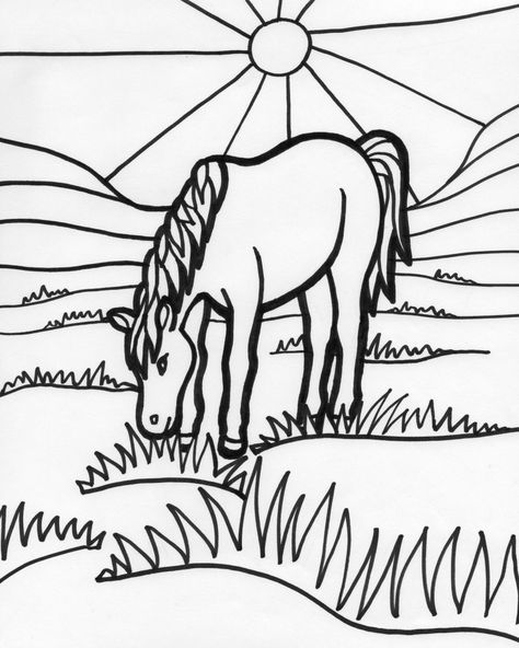 061a0d2905d93bc8a3d2c3c9bef179e5 horse coloring pages kids coloring