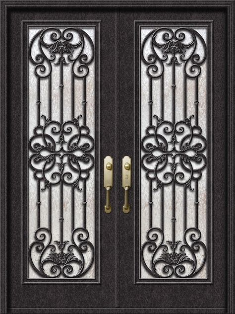 Premium Wrought Iron Front Doors Wrought Iron Shop Iron Entry