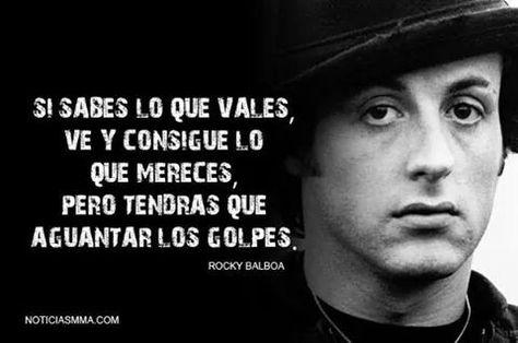 Mr M On Frases Rocky Frases Motivadoras Y Rocky Balboa