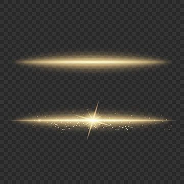 Gold Light Streak With Particles Dust Lens Reflection Light Background Abstract Png And Vector With Transparent Background For Free Download Gold Light Transparent Background Color Vector