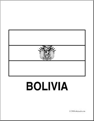 Flag Of Bolivia Coloring Pages Bolivia Flag Flag Coloring Pages Coloring Pages
