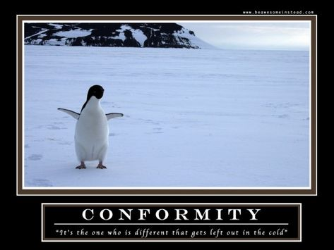 Conformity- The Demotivational poster from How I Met Your Mother - barney stinson resume video