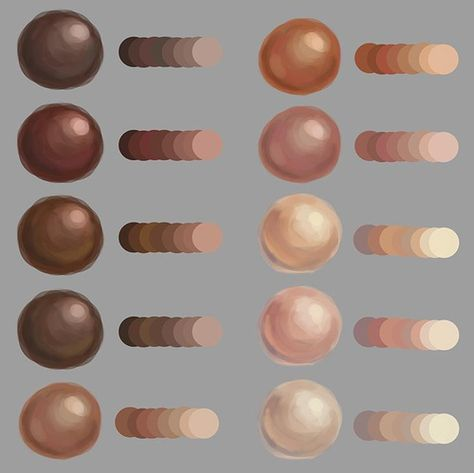 Painting skin textures by Gina Nelson Digital Painting Tutorials, Digital Art Tutorial, Art Tutorials, Digital Paintings, Concept Art Tutorial, Skin Color Palette, Palette Art, Skin Color Paint, Skin Colors