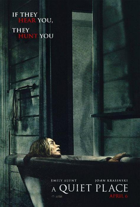 Resultado De Imagem Para Um Lugar Silencioso Filmes De Terror