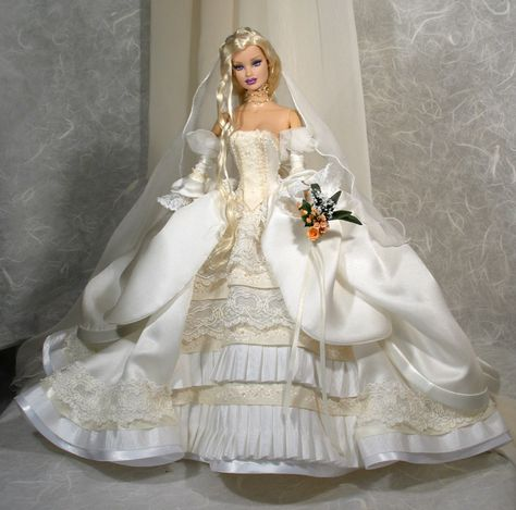 Pretty bride. Tonner OOAK Barbie doll