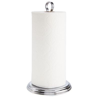 Decorative Metal Countertop Free Standing Paper Towel Holder